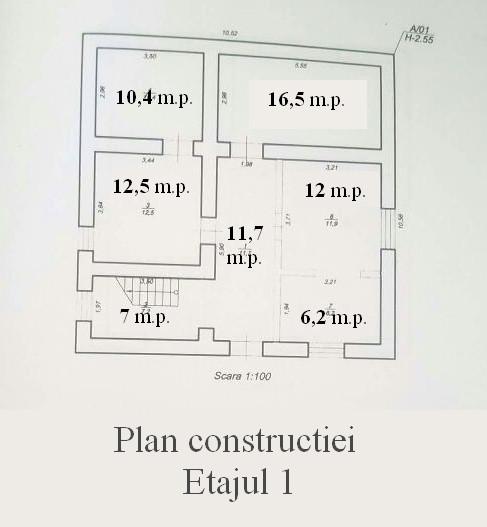 План Этаж 1